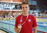 Sport Talent: Szymon Leszega. Lekarz kazał pływać, więc pływa.. po medale