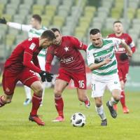 Lechia Gdańsk - Wisła Kraków 1:1. Mroźna inauguracja piłkarskiej wiosny