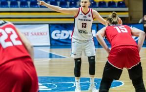Basket 90 Gdynia na mecz koszykarek z Artego w Bydgoszczy ponownie z Anną Makurat