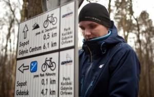 Trasa rowerowa w Orłowie ma nowe oznakowanie