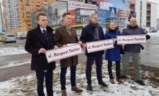 Propozycja Koalicji dla Gdańska: Thatcher zamiast Kaczyńskiego