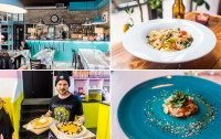 Nowe lokale: amerykańska pizza, śledzie i kuchnia śródziemnomorska
