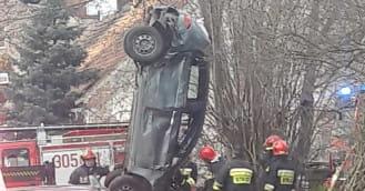 Dachowanie samochodu w Oliwie