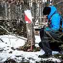 II Kompas Wikingów w zimowej scenerii