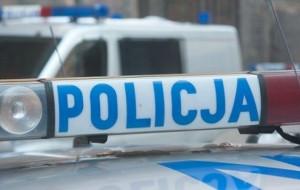 Gangsterski napad na samochód pracownika kantoru