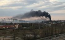 Pożary w Gdańsku. Płonął pustostan na...