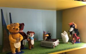 Oryginalna scena z produkcji Misia Colargola stanęła w Galerii Starych Zabawek w Gdańsku