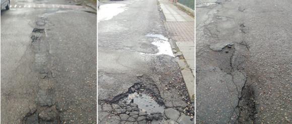 Od 14 lat czekają na remont ulicy w Orłowie