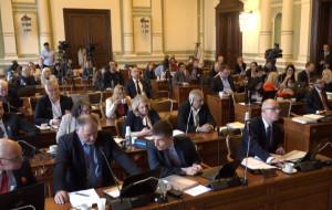 Gorąca sesja Rady Miasta w sprawie studium dla plaży na Stogach
