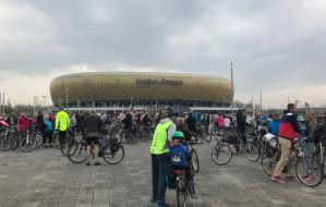 Cykliści uczcili drugą rocznicę otwarcia tunelu pod Martwą Wisłą