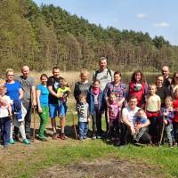 Rodzinna wędrówka wśród jezior i torfowisk