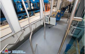 Wieszaki rowerowe w nowych gdańskich autobusach