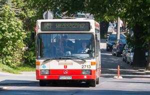 Objazd dla autobusów przez prace budowlane, których nie było