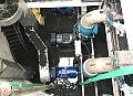 Instalacja silnika w przepompowni