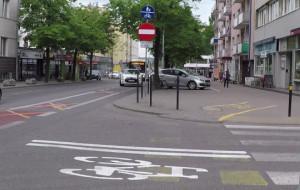 Gdynia skraca kontrapas rowerowy na 3 Maja