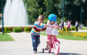 Jak nauczyć dziecko jazdy na rowerze?