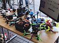 W weekend odbyły się wyścigi dronów