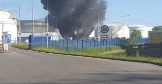 Paliła się pompownia w rafinerii gdańskiej