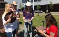 Studenci rozwiązywali zagadki na terenie Uniwersytetu Gdańskiego