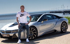 Kamil Glik został partnerem BMW Zdunek