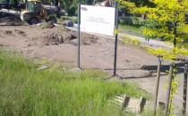 Prace przy parku Steffensów początkiem...