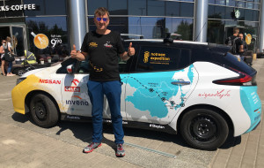 Marek Kamiński chce dojechać autem elektrycznym do Japonii