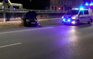 Pijany sprawca wypadku na Trakcie św. Wojciecha