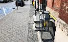 Usunęli stojaki rowerowe na ul. Łąkowej