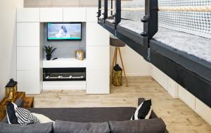 Trójmiejskie Wnętrza. Mieszkanie z antresolą na 35 m kw.