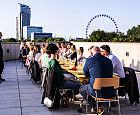Niecodzienna kolacja na dachu Muzeum Miasta Gdyni
