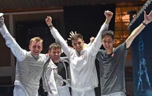 Gdańscy floreciści na podium mistrzostw Europy