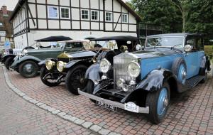 Ponad 20 Rolls-Royce'ów przyjechało do Gdańska