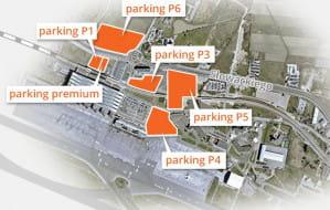 Gdzie zaparkować auto w drodze na samolot?