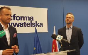 Jarosław Wałęsa zaprezentował kandydata na wiceprezydenta