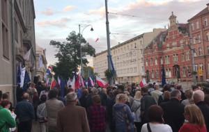 Protest w Gdańsku w obronie sądów