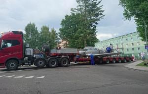 Samolot z Babich Dołów trafił do remontu do Łodzi