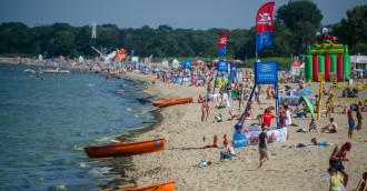 Prewencyjne zamknięcie kąpielisk w Gdańsku