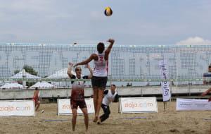 Siatkarska dominacja na sopockiej plaży