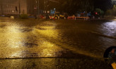Nocna ulewa zalała ulice i tunele w Gdyni