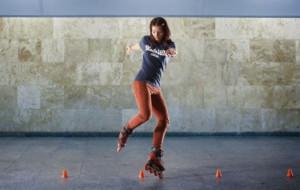 Rolki: Darmowy trening z mistrzynią w Ergo Arenie