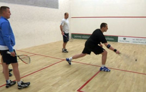 Odkrywamy squasha. W trójmiejskiej lidze gra 160 osób