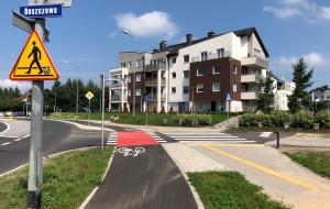 Nowa droga rowerowa w Chwarznie
