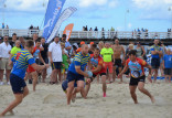 Trzy dni z rugby na sopockiej plaży