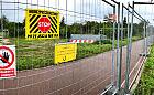 Zamknięty przejazd pod TrasąSucharskiego