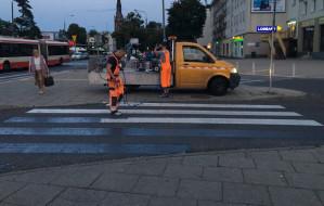 Znikają przejścia dla pieszych przy dworcu we Wrzeszczu