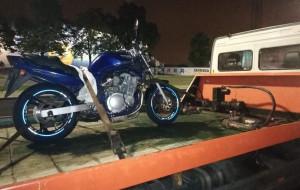 Policyjne żniwo podczas nielegalnych wyścigów w Oliwie