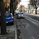 Gdynia: można parkować na pasie przy Konsulacie Kultury