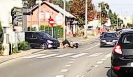 Potrącenie rowerzysty na Świętokrzyskiej. Kto zawinił?