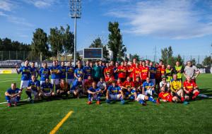 Raperzy pokonali komików w charytatywnym meczu piłkarskim