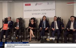 Debata o gospodarce kandydatów na prezydenta Gdańska